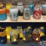 Mason Jar Luminaries @ Santa's Village Fargo