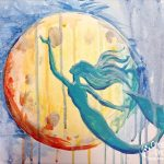 Mermaid Moon at Creatively Uncorked https://creativelyuncorked.com/