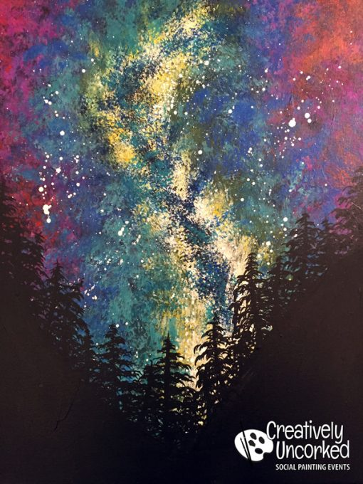 Milky Way at Creatively Uncorked https://creativelyuncorked.com