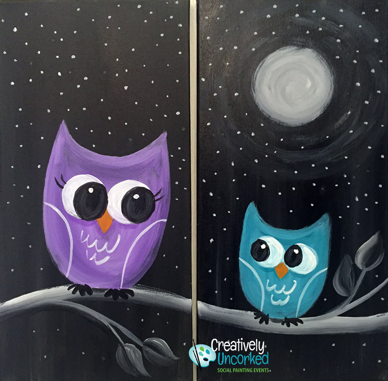 Mommy and Me Owls