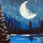 Summer Moon at Creatively Uncorked https://creativelyuncorked.com/