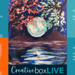 Moon Reflection CBL Creatively Uncorked https://creativelyuncorked.com/