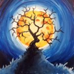 Moon Tree at Creatively Uncorked https://creativelyuncorked.com