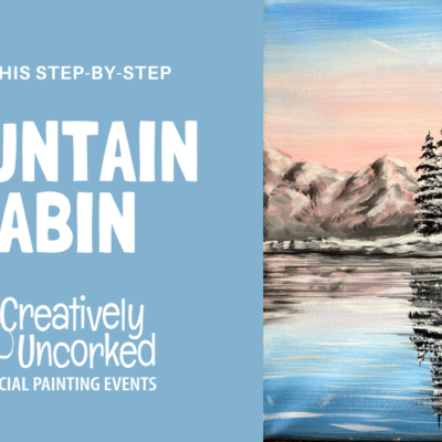Mountain Cabin Virtual Art Kit