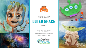 Kids Camp: Outer Space Week