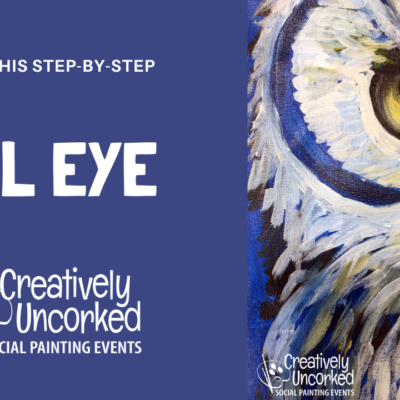 Owl Eye On Demand Art Kit