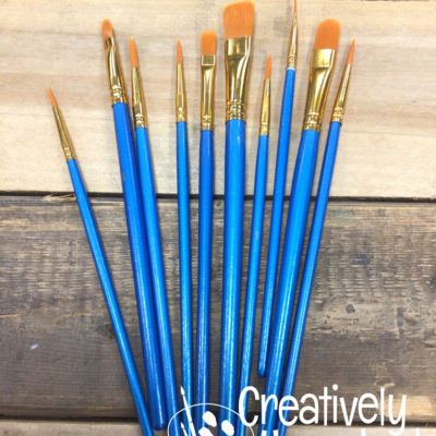 Paintbrushes Set of 10
