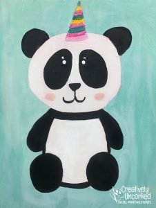 Pandacorn at Creatively Uncorked https://creativelyuncorked.com/