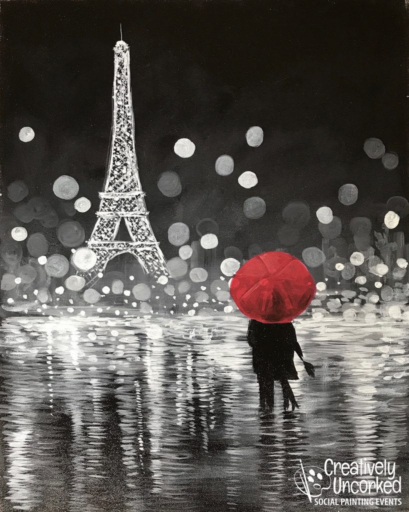 Paris Nights at Creatively Uncorked https://creativelyuncorked.com/