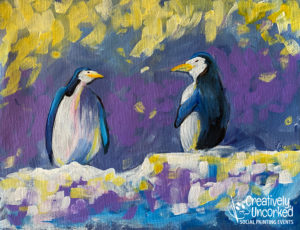 Penguin Confetti from Creatively Uncorked https://creativelyuncorked.com/