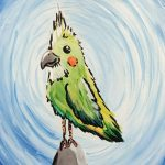 Perky Parrot at Creatively Uncorked https://creativelyuncorked.com/