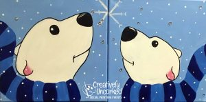 Polar Bears at Creatively Uncorked https://creativelyuncorked.com/