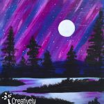 Purple Midnight at Creatively Uncorked https://creativelyuncorked.com
