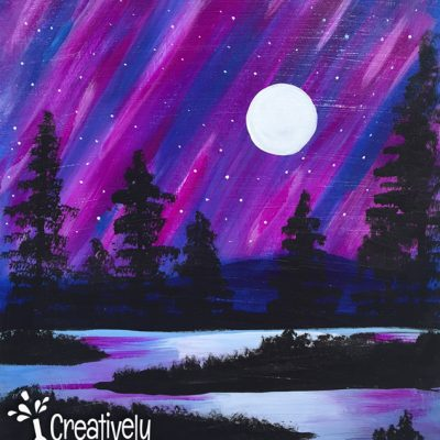 Purple Midnight at Creatively Uncorked https://creativelyuncorked.com
