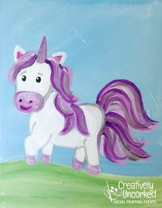 Purple Unicorn at Creatively Uncorked https://creativelyuncorked.com/