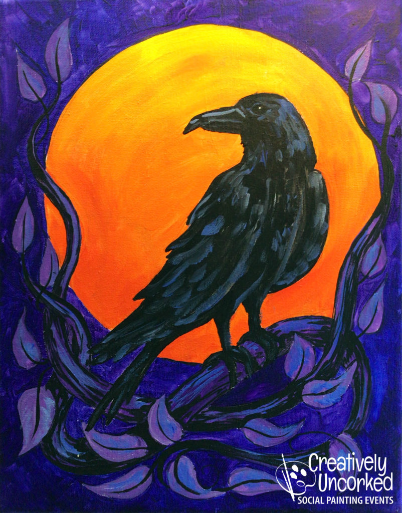 Raven at Creatively Uncorked https://creativelyuncorked.com/