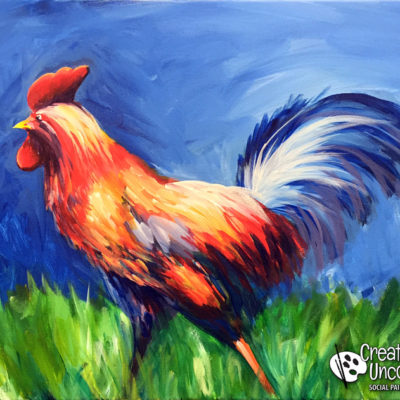 Rise and Shine Rooster at Creatively Uncorked https://creativelyuncorked.com