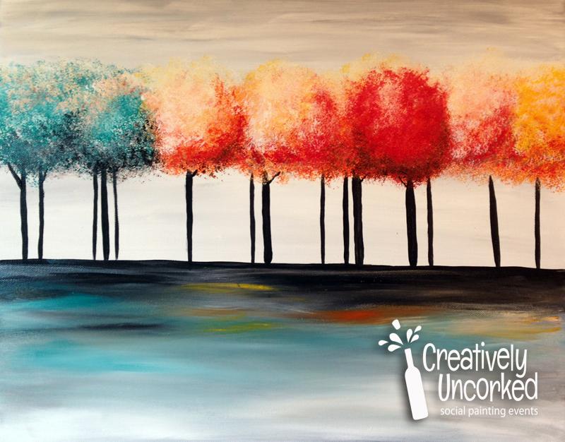Serene Trees