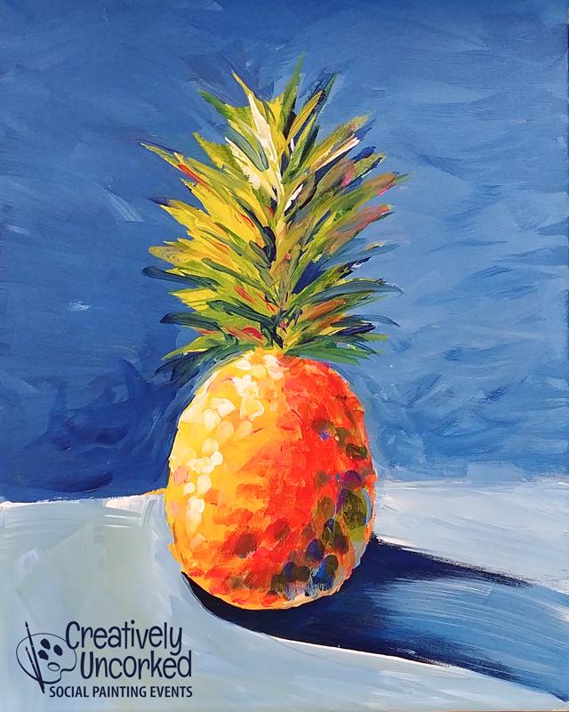 Splashy Pineapple