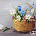 Spring Basket from Creatively Uncorked https://creativelyuncorked.com/