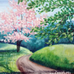 Spring Path at Creatively Uncorked https://creativelyuncorked.com/