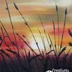 Sunset on the Prairie at Creatively Uncorked https://creativelyuncorked.com/