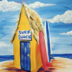Surf Shack at Creatively Uncorked https://creativelyuncorked.com/