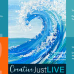 The Wave CBL from Creatively Uncorked https://creativelyuncorked.com/