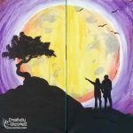 Under The Moon at Creatively Uncorked https://creativelyuncorked.com/