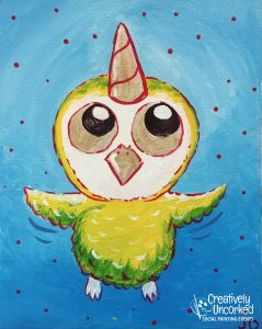 Uni-Owl at Creatively Uncorked https://creativelyuncorked.com/