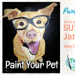 Paint Your Pet at Creatively Uncorked January 27, 2019