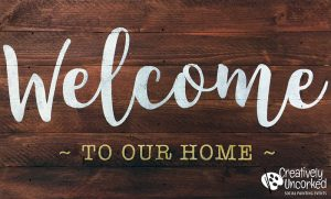 Welcome to Our Home at Creatively Uncorked https://creativelyuncorked.com/