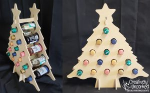 Wine Tree at Creatively Uncorked https://creativelyuncorked.com/