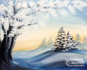 Winter Morning at Creatively Uncorked https://creativelyuncorked.com/