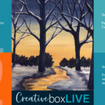 Winter River CBL with CreativeBoxLIVE from Creatively Uncorked https://creativelyuncorked.com/