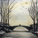 Winter's Bridge | Creatively Uncorked | https://creativelyuncorked.com