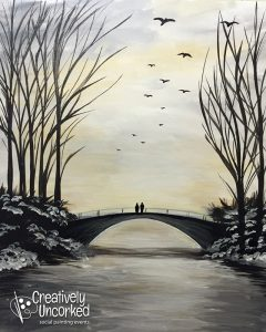 Winter's Bridge | Creatively Uncorked | https://creativelyuncorked.com