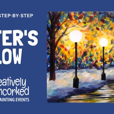 Winter's Glow Virtual Art Kit