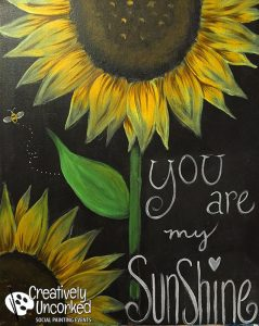 You Are My Sunshine @ Creatively Uncorked https://creativelyuncorked.com/