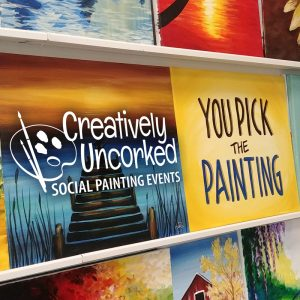 You Pick the Painting @ Creatively Uncorked https://creativelyuncorked.com/
