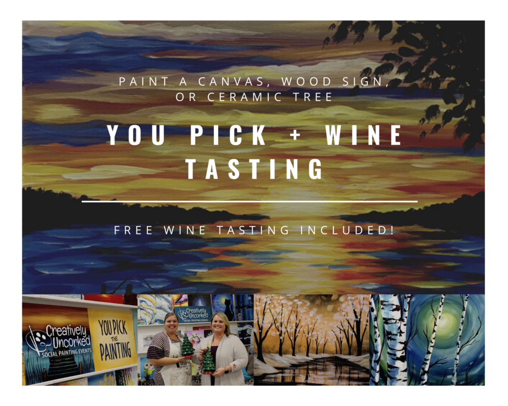 You Pick + wine tasting