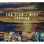 You Pick + wine tasting