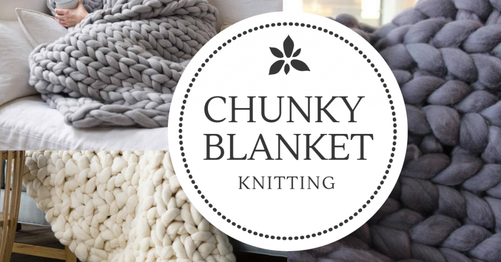 Chunky Blanket at Creatively Uncorked https://creativelyuncorked.com/