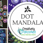 Dot Mandala at Creatively Uncorked https://creativelyuncorked.com/