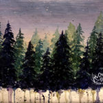 Fading Forest by Creatively Uncorked https://creativelyuncorked.com/