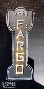 Fargo Theatre B&W