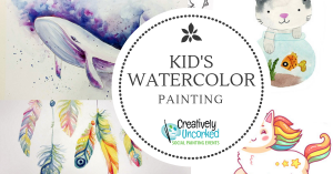 kids Watercolor Painting