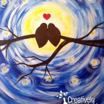 Love Birds Moon