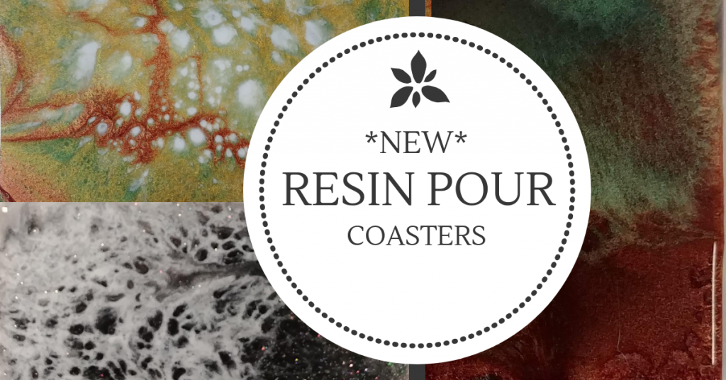 Resin Coasters at Creatively Uncorked https://creativelyuncorked.com/