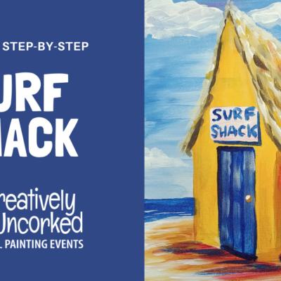 Surf Shack On Demand Art Kit